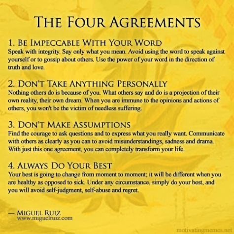 Must Read Book Review The Four Agreements By Don Miguel Ruiz